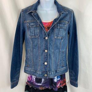 Rose & Ali Denim Blue Jean Jacket S